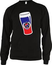 Republic of Korea Emblem Beer Glass Pride Maekju Maekchu Long Sleeve Thermal