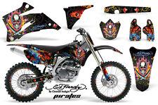 AMR RACING STICKER GRAPHIC KIT DECAL YAMAHA YZ450F YZ YZ250F 06-09 ED HARDY PK