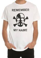 Breaking Bad REMEMBER MY NAME HEISENBERG SKETCH T-Shirt NEW Licensed & Official