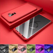 Hülle für Samsung Galaxy S9 / S8 / Plus Full Cover 360° Grad Handy Schutz Cass