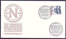 BRD 1982: James Franck y max born! FDC la nº 1147 con bonner estampar! 155