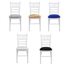 Spandex Lycra Cojín de Asiento tapa con elástico borde para chivari BODA sillas