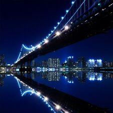 Pegatinas de pared decoración : puente de New York la noche 1287