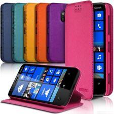 Etui à rabat latéral Support Couleur pour Nokia Lumia 620 + Film de protection