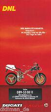 Prospekt Ducati Cagiva Mobilitätsgarantie 1996 brochure Broschüre Motorrad Italy