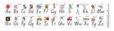 Alphabet Strips Desk Stickers Foundation NSW Font Literacy Teacher Education