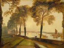 "J.M.W. Turner : ""Mortlake Terrace"" (1827) — Giclee Fine Art Print"
