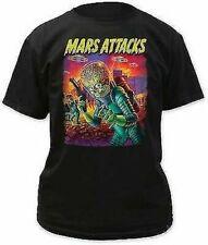 MARS ATTACKS UFOS ATTACK ROCKABILLY PUNK MUSIC BAND ROCK MENS TEE SHIRT S-2XL