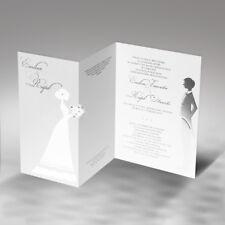 Einladungskarten Hochzeit FE106E mit Umschlag! Hochzeitseinladungskarte