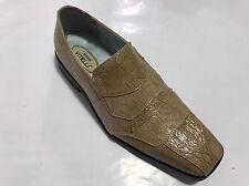 Men's Dress Shoes HUGO VITELLI, Color Oyster Square toe.  Man made