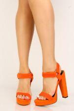 Shoe Republic Camila Black Vegan Suede Scalloped Sides Ankle Strap Pointed Pumps