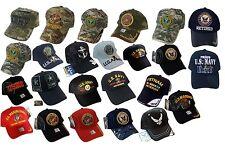 ARMY Navy Vietnam Korea Veteran U.S CORPS Marine Military Baseball Cap Hat