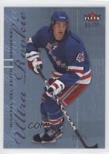 2009-10 Fleer Ultra Ice Medallion #262 Michael Del Zotto New York Rangers Card