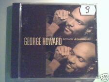 GEORGE HOWARD Attitude adjustment cd USA ERIC DANIELS