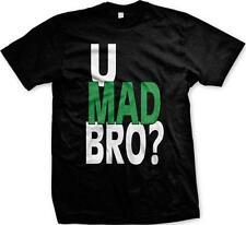 You U Mad Bro Sayings Humor Funny Joke Troll Meme Mens T-shirt