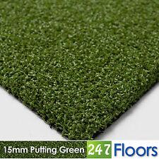 Artificial Grass, Quality Astro Turf, Cheap, Garden 15mm Putting Green Golf