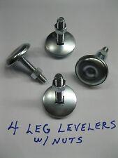 "NEW 2"" LEG LEVELERS SET of 4 Heavy Duty - > Pinball & Arcade Cabinets"
