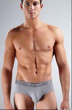 2xist Mens underwear Sculpted Grey Brief Size S M L XL
