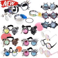 Kaleidoscope Glasses Monster Claw Goggle Gem Goggle Rainbow Sunglasses Hollaween