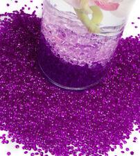 table Dispersion cristaux diamant forme 10mm 19 couleurs Table de mariage décor