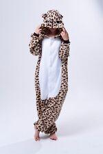 Leopardo Oso onesiee Kigurumi Disfraz Con Capucha Pijamas sueño Wear