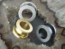Ohrtunnel Piercing Orecchino pircing orecchio GELO DESIGN Frozen FROSTED OPACA Plug