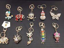 3D Crystal Diamond Keychains Key Chain