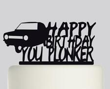 Nueva York Skyline Feliz Cumpleaños Acrílico Cake Topper .324