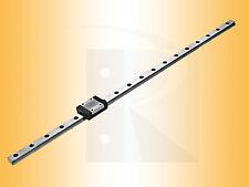 Miniatur Linearführung - Kugelumlaufführung - MR09-MN-.. (Schiene+Wagen)