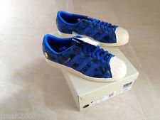 Adidas Consortium x UNDFTD X bape superstar 80 V Bleu Camouflage Toutes Tailles 8-10 NEUF