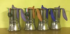 GAT WINNER CAFFETTIERA IN ACCIAIO INOX 6 TAZZE made in Italy CAFFE'