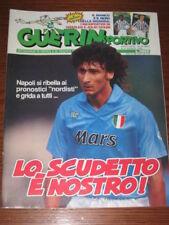 GUERIN SPORTIVO 1990/32 NAPOLI IVANISEVIC SIMEONE ROMA