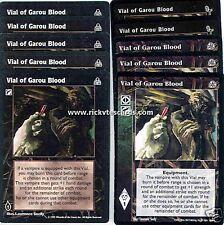 Vial of Garou Blood x10 3rd Ed FN DS