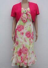 Jacques Vert Ruby Rose Dress and Bolero ~ Wedding ~ NEW  ~  Matching       (RR1)