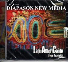 TONY ESPOSITO - LATINAMERICANTO - CD RARO