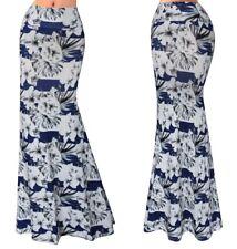 Gonna Lunga Donna Maxi Fantasia Floreale Woman Maxi Flower Skirt 130055 P