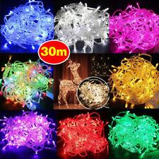 30m 300 LED Fairy String Light Lamp  Xmas Outdoor Christmas Wedding Party Decor