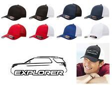 2011-16 Ford Explorer SUV Classic Color Outline Design Hat Cap