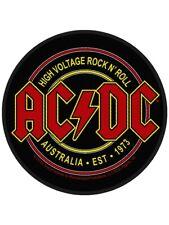 Aufnäher AC/DC High Voltage Rock N Roll 9 x 9 cm