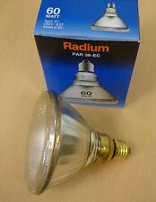 RADIUM PAR38 PAR 38 E27 Strahler Pressglaslampe Lampe 60W 80W 120W FLOOD SPOT