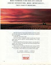 1990 Deutz Allis 9100 Series Tractor Print Ad