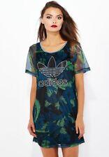 Adidas Originals W Hawaii Maglia Abito Taglia UK 10, 14 NUOVO (247)