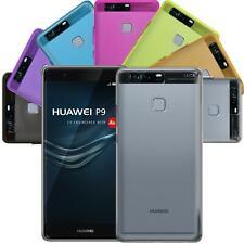 Huawei P9 Hülle Schutzhülle Tasche Case Silikon TPU Slim Schutz Cover Back Etui