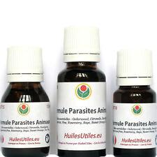 Formule Parasites Animaux - Huiles Essentielles Anti Puces et Tiques pour Chats