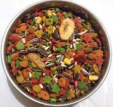 BBA Special mix parrot diet , zupreem fruitblend, pretty bird pellets, seeds