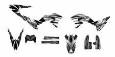 WR250R WR250X Graphics decal kit 2007 - 2015 #7777-Metal Free Custom Service