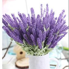Elegant Lavender Flowers Silk Artificial Bouquet Wedding Home Party Decor Craft