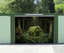 3D Wald Häuschen 147 Garage Tür Wand Druck Abziehbild Wand Dekor AJ WALLPAPER DE