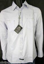 English Laundry Shirt Blaque Label Style ELW 1209 Hannan Blue 100% Cotton