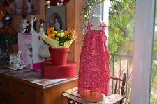 blouse cyrillus neuve 12 ans LIBERTY bretelles rouge fleur bretelles